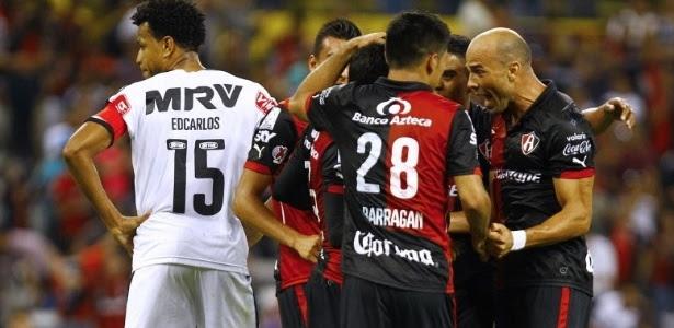 O mexicano Atlas venceu o Atlético-MG duas vezes em 2015, assim como fizeram Atlético-PR e Corinthians