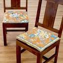 Colorful Dining Room Chair Cushions | In Seven Colors - Colorful ...
