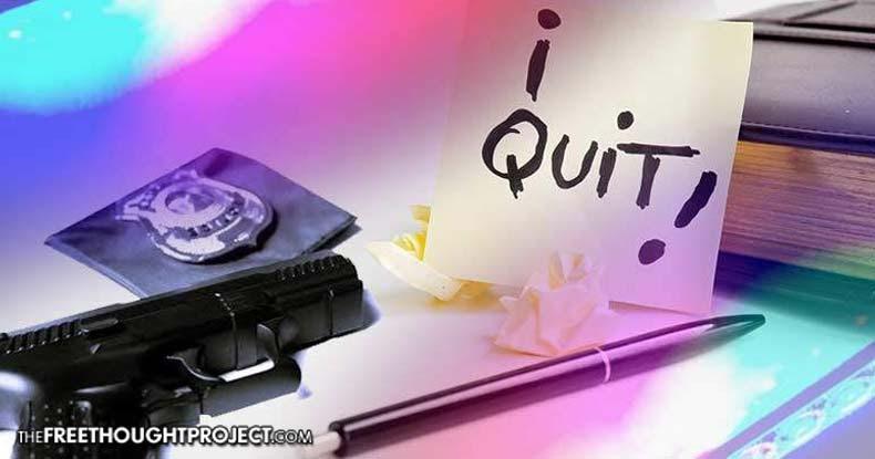 police-quit