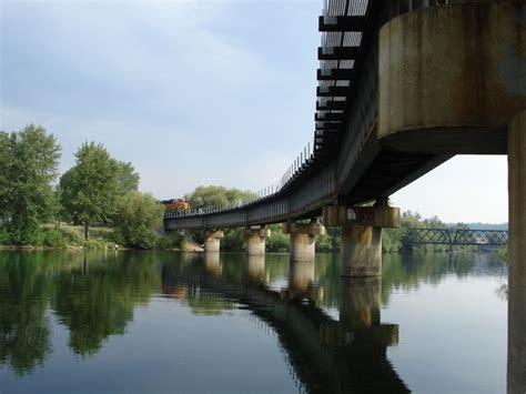 bridgehuntercom bnsf spokane river bridge