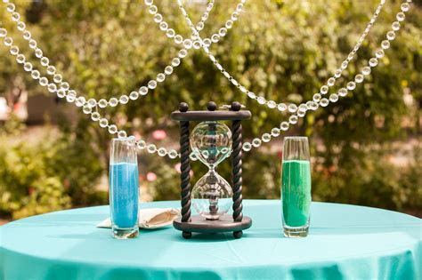 Heirloom Hourglass that we used in our sand ceremony   Our