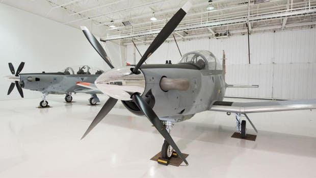 Los aviones Texan II TC6