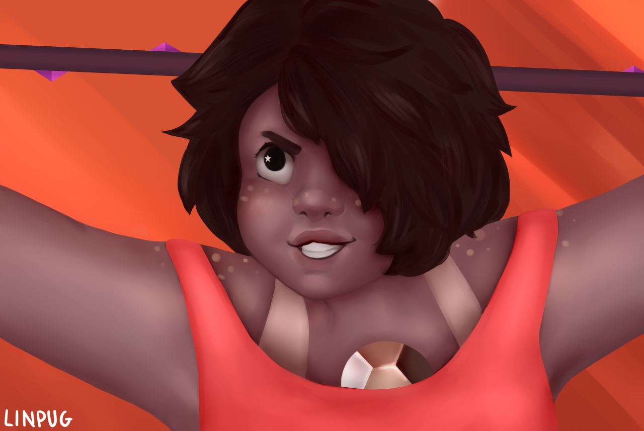 Smoky Quartz screenshot redraw! speedpaint