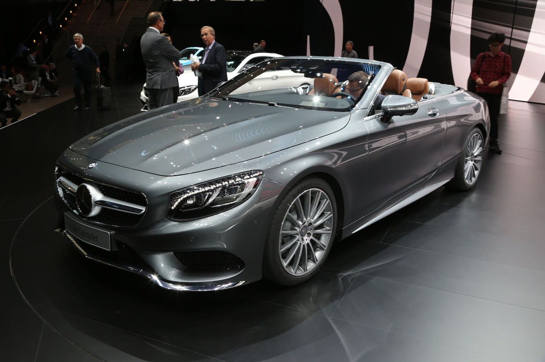 Mercedes-Benz S-Class Cabriolet Interior Revealed