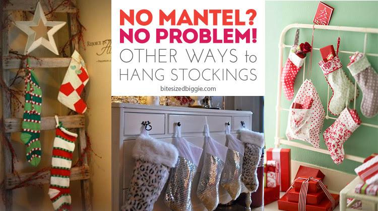 No Mantel No Problem How To Hang Stockings
