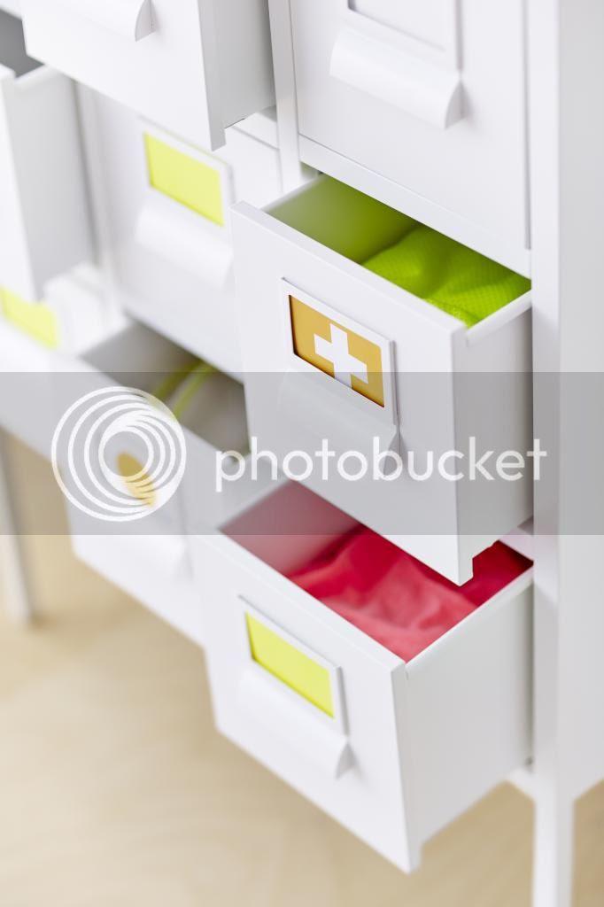 Sprutt von Ikea, kleine Kommode - Details