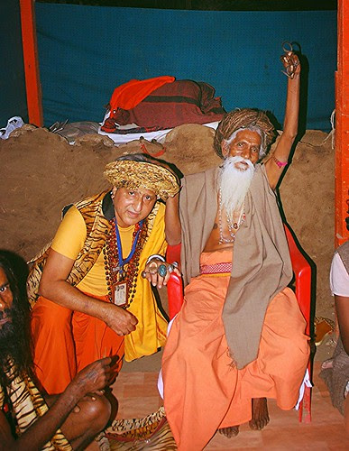 Naga Sadhu Baba and The Malang by firoze shakir photographerno1