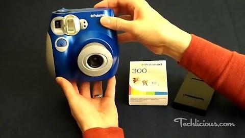 How To Put Film In Polaroid 300 Instant Camera