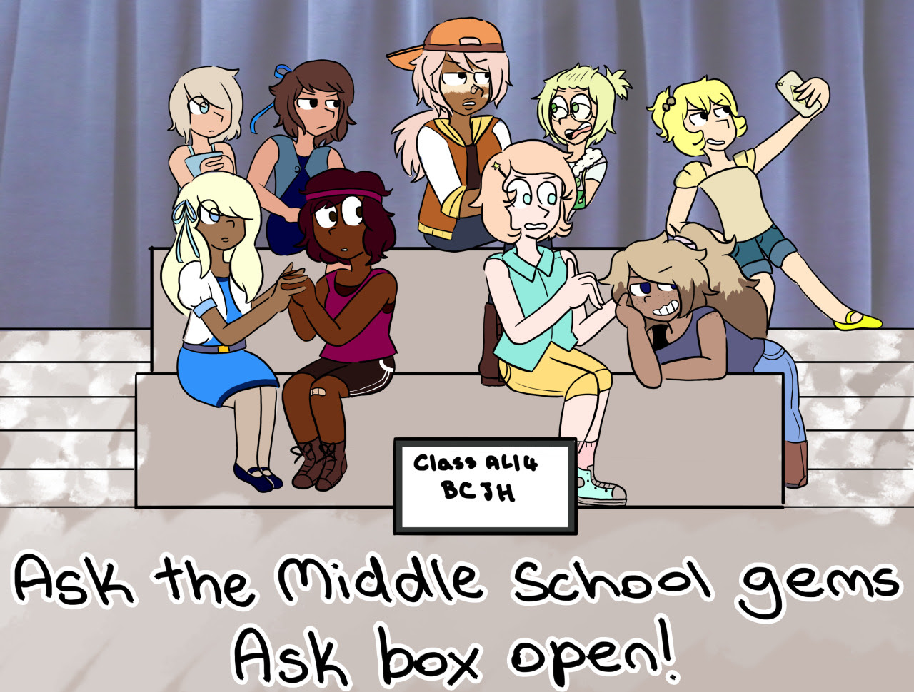 Ask box is open! Send some asks in for the gem squad!