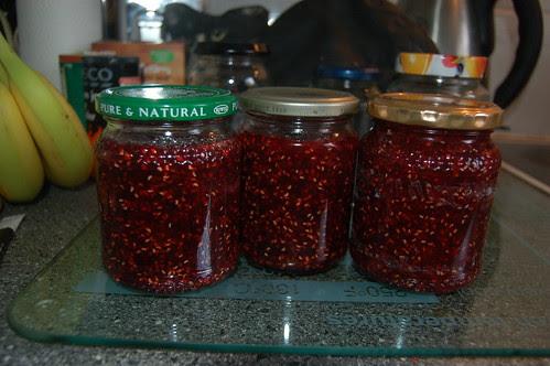 raspberry white currant jam June 11 2