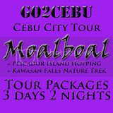 ebu City + Moalboal + Kawasan Falls Nature Trek + Pescador Island Hopping Tour Itinerary 3 Days 2 Nights Package