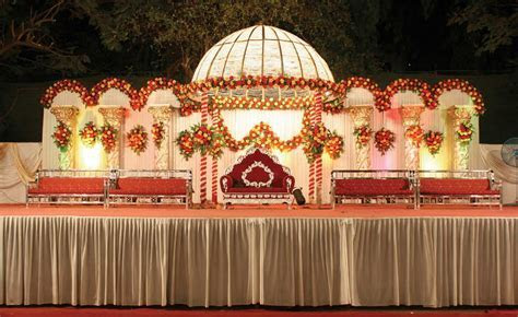 Wedding Stage Decoration Pictures   Romantic Decoration