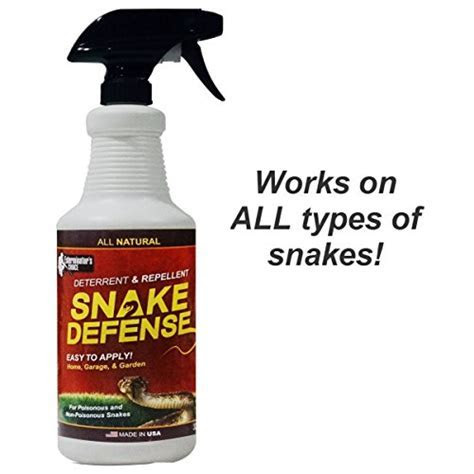 Snake Defense Natural Snake Repellent   Effective and Safe Spray 32oz  For All Types of Snakes