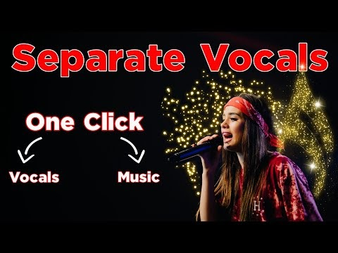 5 Best ways to Separate Vocals and Music from a song