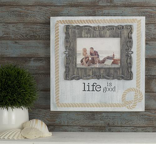 Life Is Good Photo Transfer Nautical Frame Project By Decoart