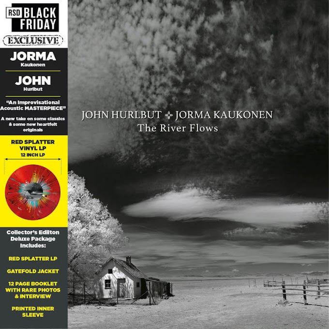 Jorma Kaukonen and John Hurlbut Release 'The River Flows' on RSD Black Friday