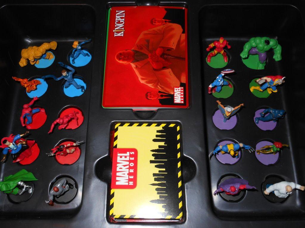 Marvel Heroes - inside the box