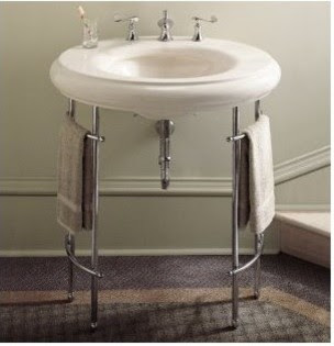 Sink Metal Console Home Decorating Excellence