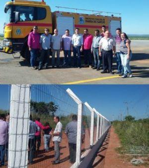 Aeroporto de Barra do Garças passa por obras para poder receber empresas aéreas em breve