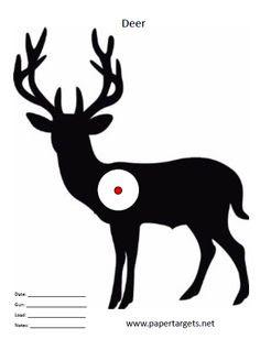 elk vitals target   free printable shooting targets   Pinterest ...