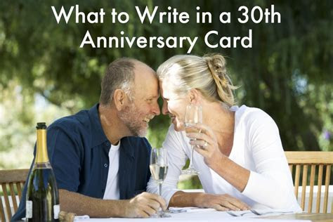 30th Anniversary Wishes, Quotes, and Poems   Holidappy