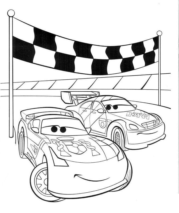 Ausmalbilder, Malvorlagen von Cars kostenlos zum ...