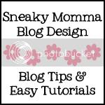 Sneaky Momma Blog Design