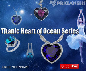 New Arrival, Fashionable  Titanic Heart of Ocean Series Titanic Heart of Ocean Series.