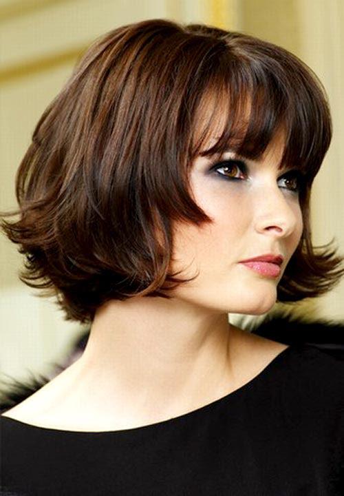 Graduated Bob Haircut Trendy Short Hairstyles For Women Pretty