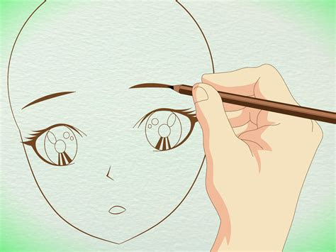 draw manga faces  basic sketching  pictures