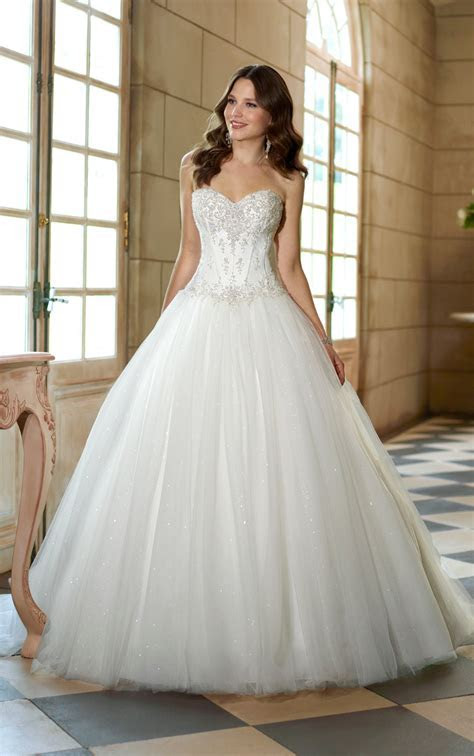 2014 Sweetheart Beaded Lace Sparkle Ball Gown Princess