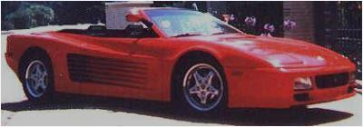 Cool Custom Cars Ferrari 512 Testarossa Spider