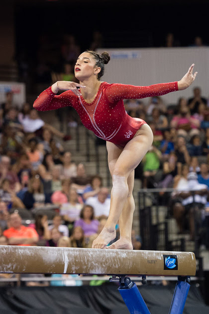 USA Gymnastics: July 25 - Senior Competition &emdash; Aly Raisman