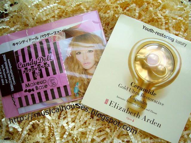 candydoll elizabeth arden ceramide capsules bellabox may