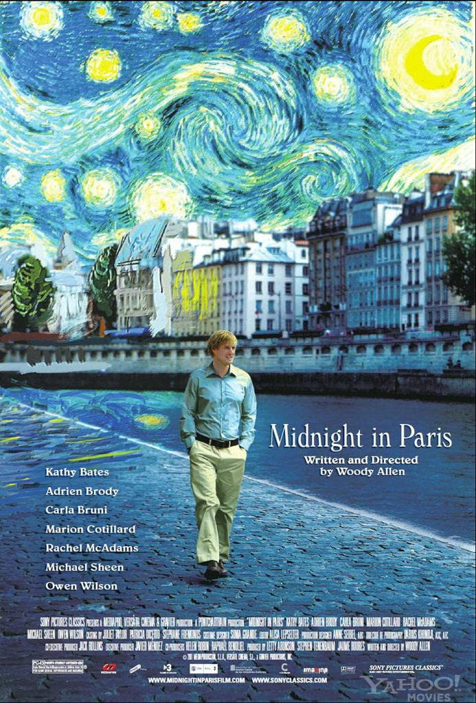 Resultado de imagen de cartel de midnight in paris