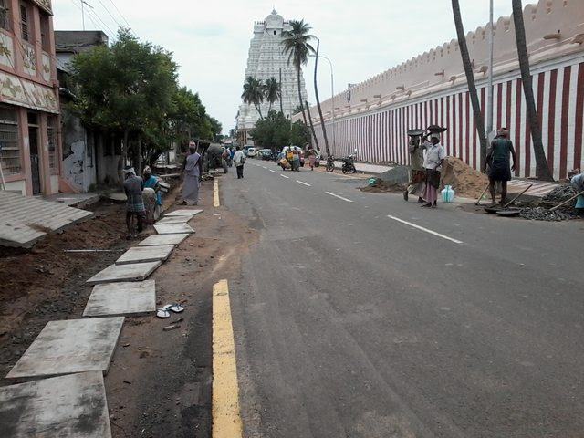 Image result for srirangam streets