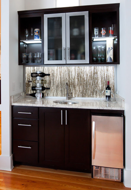 Wet Bar - eclectic - living room - charleston - by Element Designs