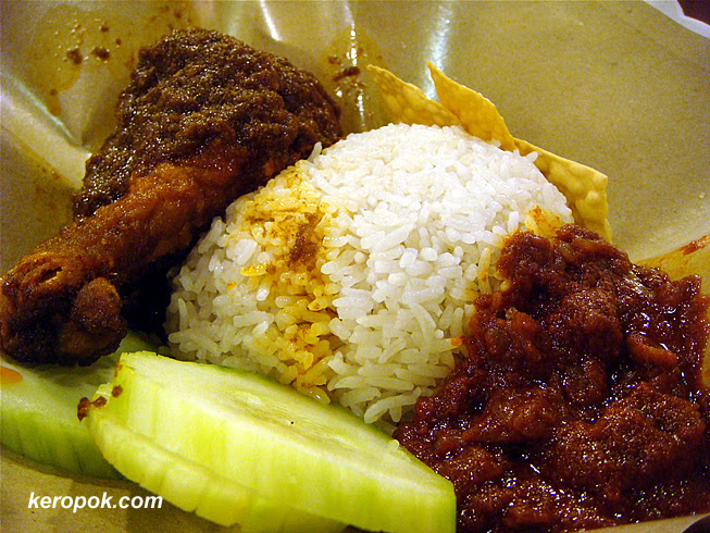 Nasi Rendang Chicken