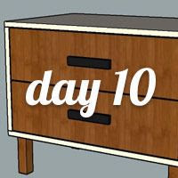DIY Nightstand Day 10