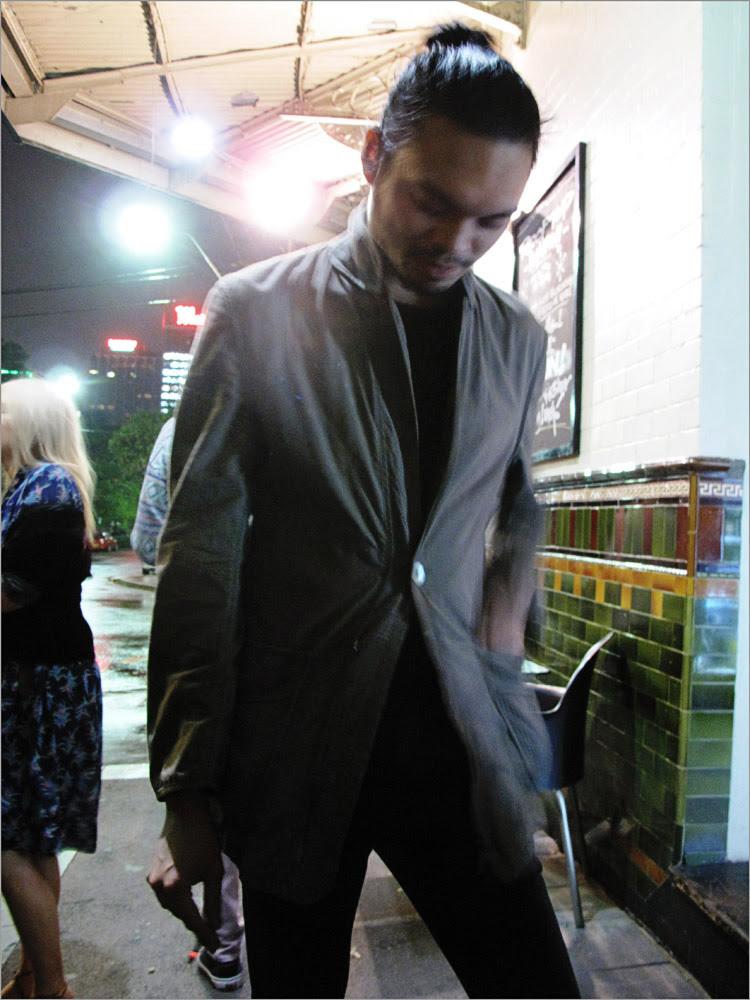 Mens Jacket, Fashion designer portrait East Sydney