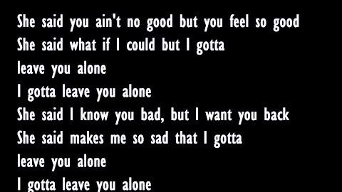 Neyo Ft Young Jeezy Leave You Alone Lyrics