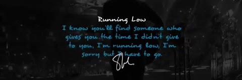 Running Low Lyrics Shawn Mendes