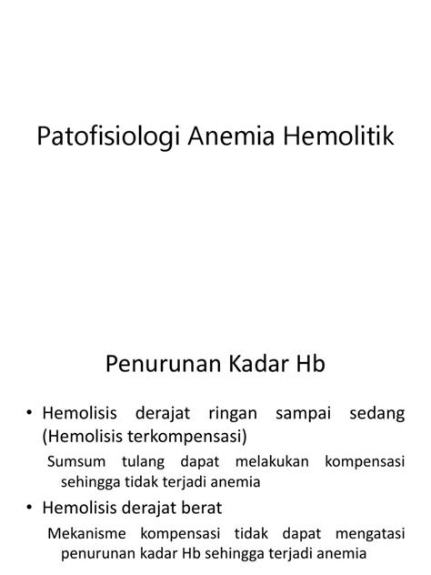 94801713 Patofisiologi Anemia Hemolitik