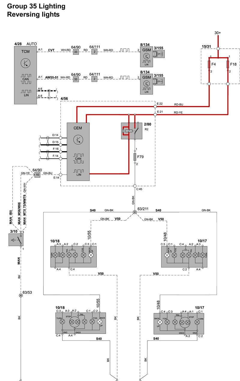 Volvo Light Wiring Diagram