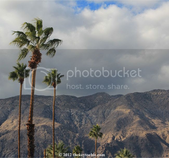 Palm Springs mountain views