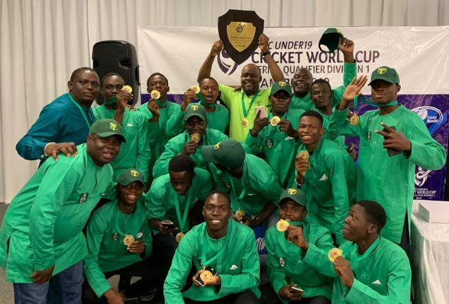 Victorious U-19 cricket team returns to Nigeria