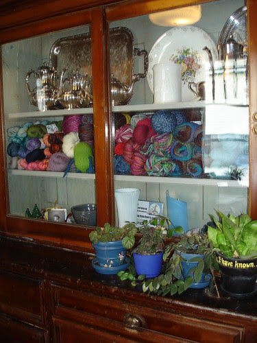 Yarn as decor