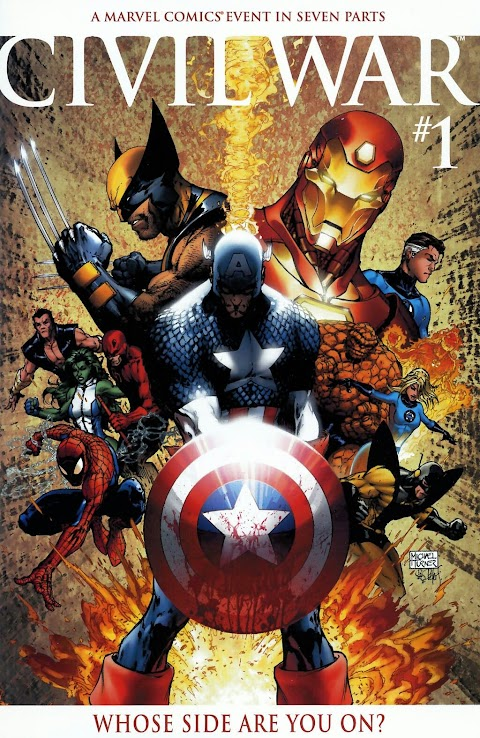 Marvel Comic Books Civil War Storyline