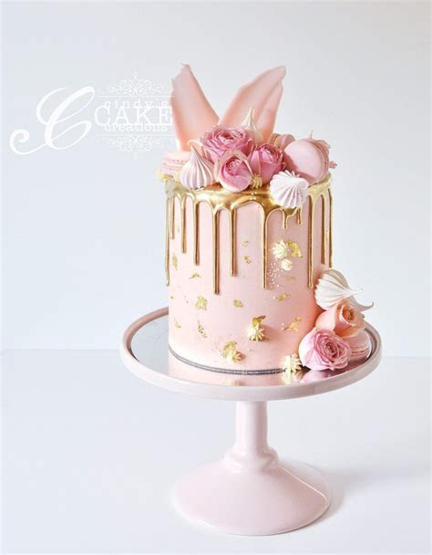 Cindy's Cake Creations   Cakes   Pink   Cake, Drip cakes