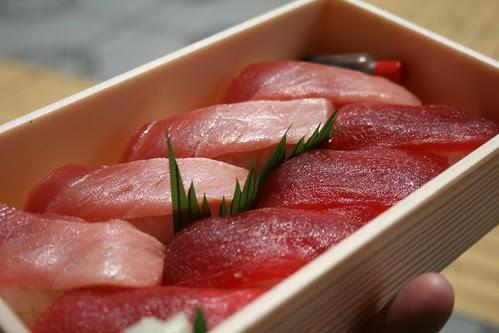 Japanese department store sushi